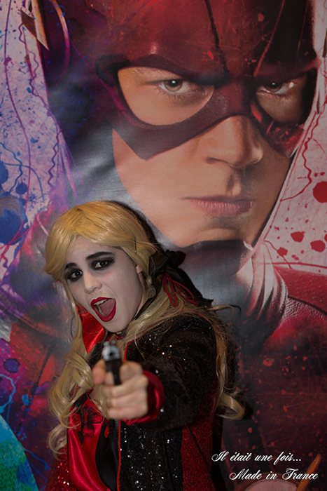 harley quinn cosplay femme made in france