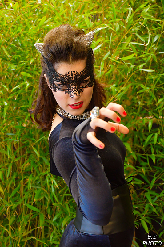 catwoman cosplay il était une fois made in france dc comics photo portrait shooting photographes costume batman animation costumée