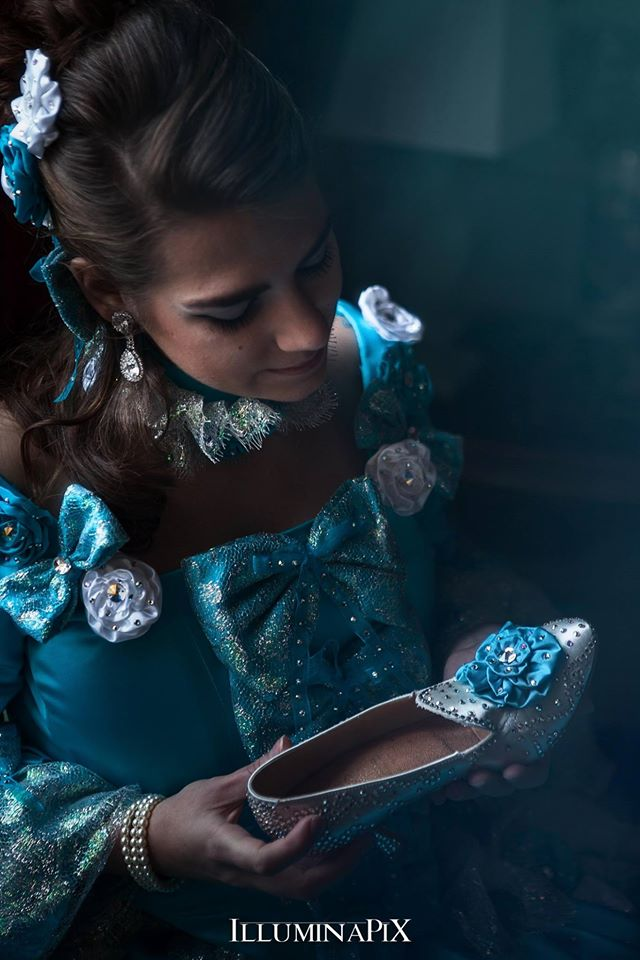 cendrillon a la pantoufle shooting photo costume il etait une fois made in france