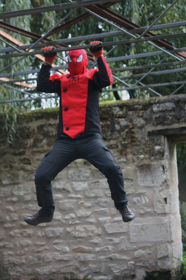 cosplay spiderman spiderverse marvel ezechiel made in france