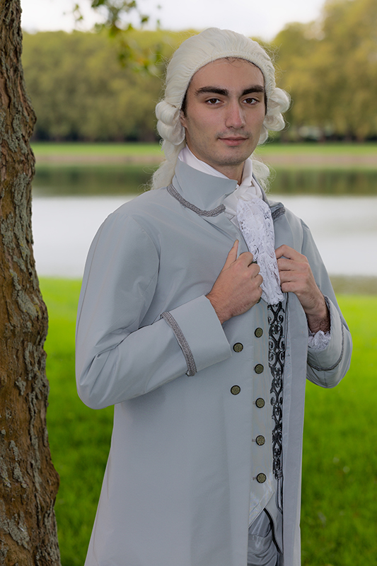 portrait shooting photo costume versailles premier valet il etait une fois made in france