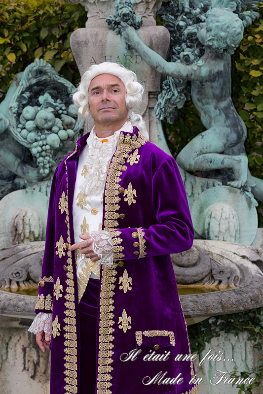 shooting photo louis xvi costume baroque versailles il etait une fois made in france