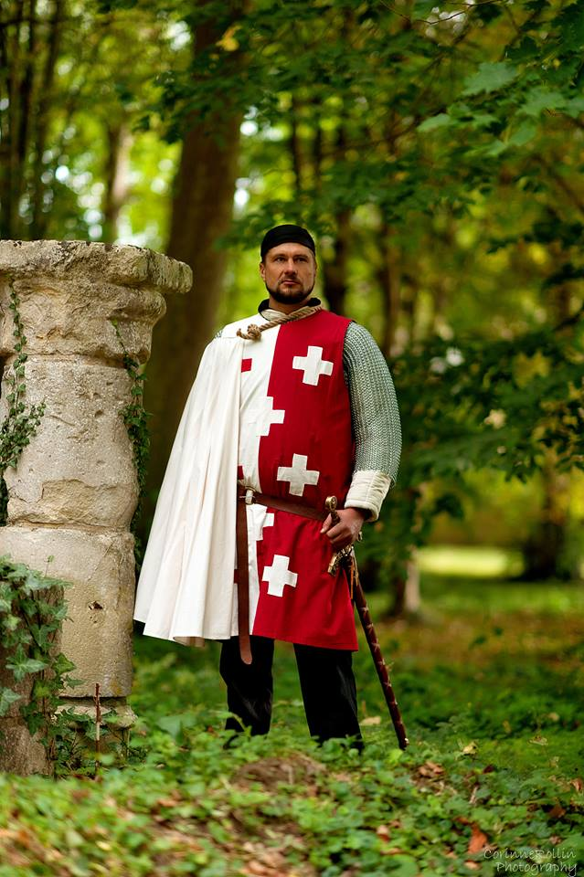 shooting photo chevalier godefroi de montmirail croisade templier il etait une fois made in france